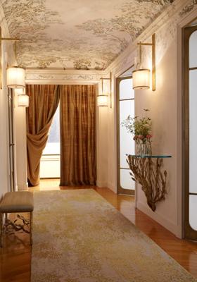 d cor peint boiseries et dorures plafond d coratif arbre ornemental l 39 origine de la. Black Bedroom Furniture Sets. Home Design Ideas