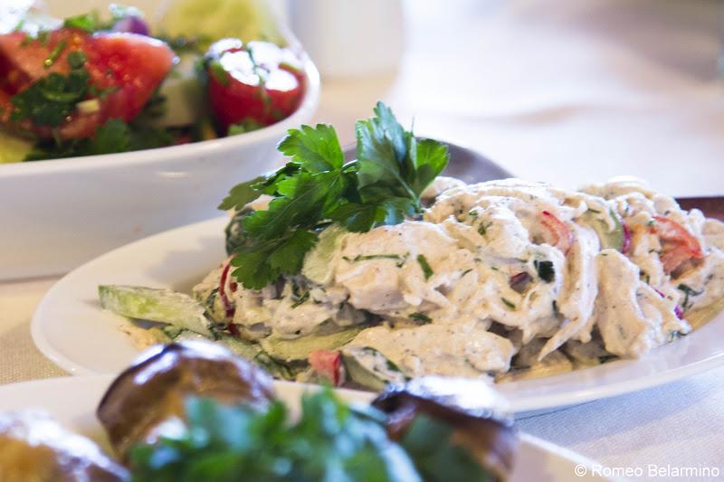 Qatmis Salati ქათმის სალათი Georgian Cuisine Traditional Foods