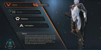 Unlock Storm, Javelin, Anthem Demo