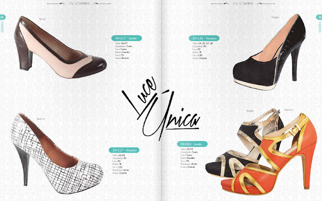 Zapatos leuka  colección OI 2017 digital en línea