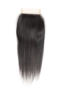 4X4 STRAIGHT VIRGIN HAIR LACE CLOSURE-NATURAL COLOR
