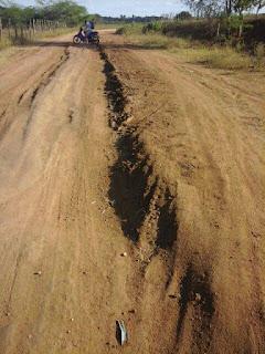 Estradas vicinais de Barra de Santa Rosa precisam de manutenção