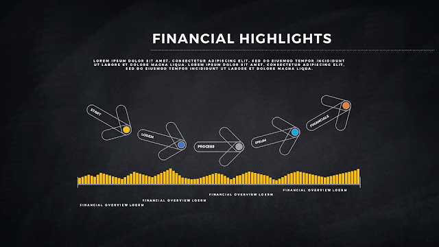 Financial Highlights And Infographic Elements in Free PowerPoint Template Slide 11