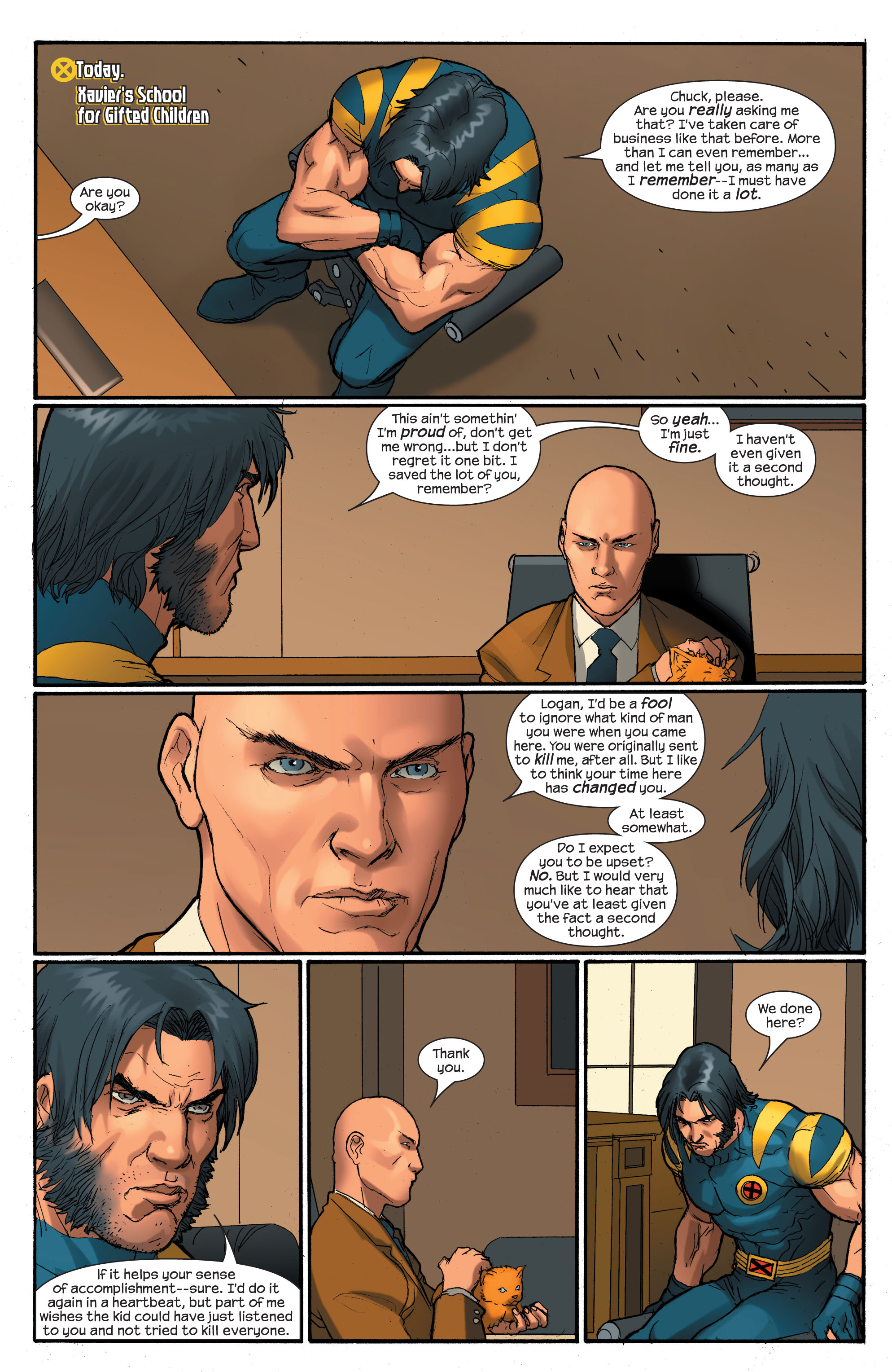 Read online Ultimate X-Men comic -  Issue # _Annual 2 - 13