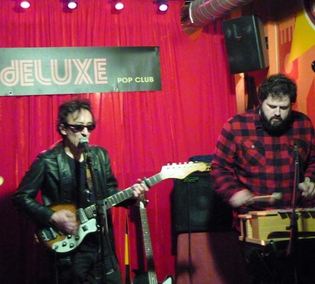 Crónica concierto Rafael Berrio Deluxe pop club