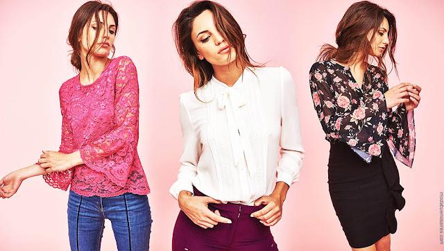 Moda invierno 2018 blusas y camisas. | Ropa de moda otoño invierno 2018.