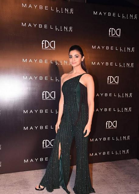 Alia Bhatt Latest Images At Maybelline New York India Event