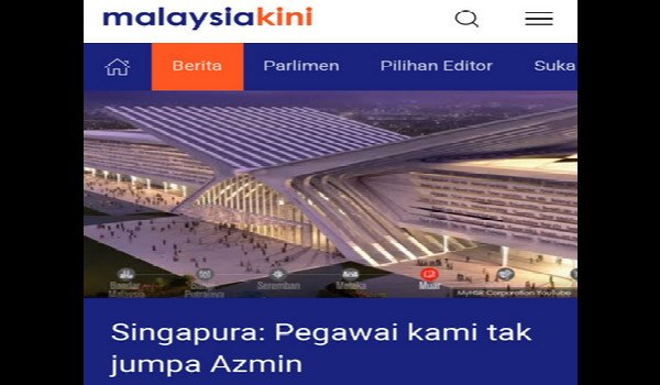 Kenyataan rasmi Singapura memalukan Kerajaan Malaysia - Zahid Hamidi