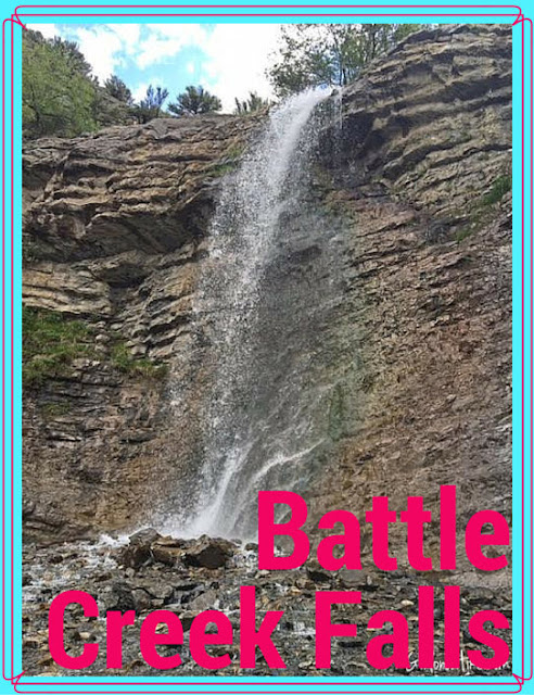 Battle Creek Falls, Hiking in Utah with Dogs