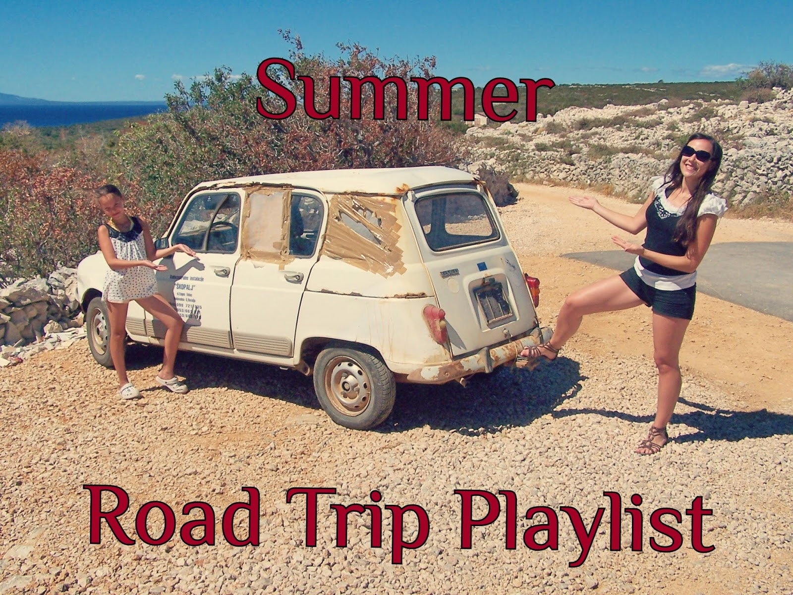 Summer road trip playlist