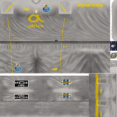 PES 6 Kits FC Porto Season 2018/2019 by FacaA/Ngel