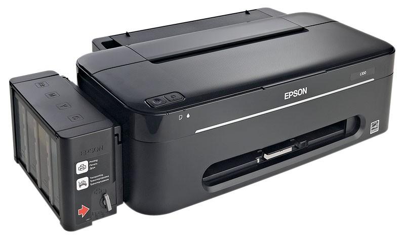 Скачать драйвер на принтер epson l100