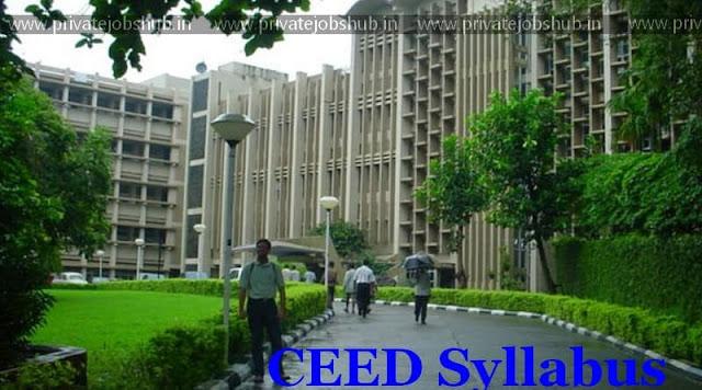 CEED Syllabus