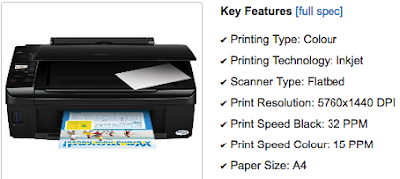 Epson Stylus TX210 Driver Download - Windows, Mac