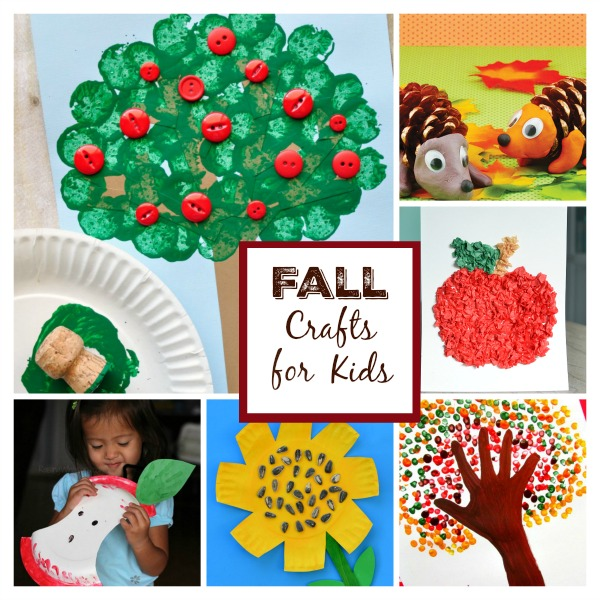 FALL CRAFTS FOR KIDS #fallcraftsforkids