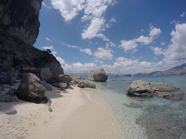 Beaches in the philippines zambales  capones island