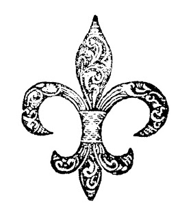 fleur de lis illustration image design