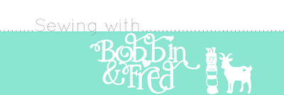 Sewing with Bobbin and Fred