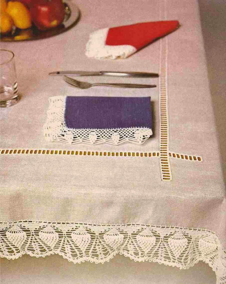 Servilletas a Crochet