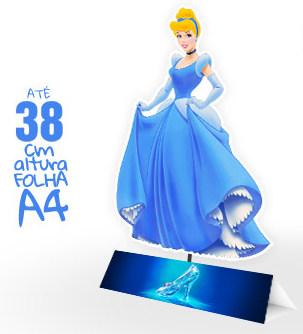 Cinderella: Free Printable Centerpieces