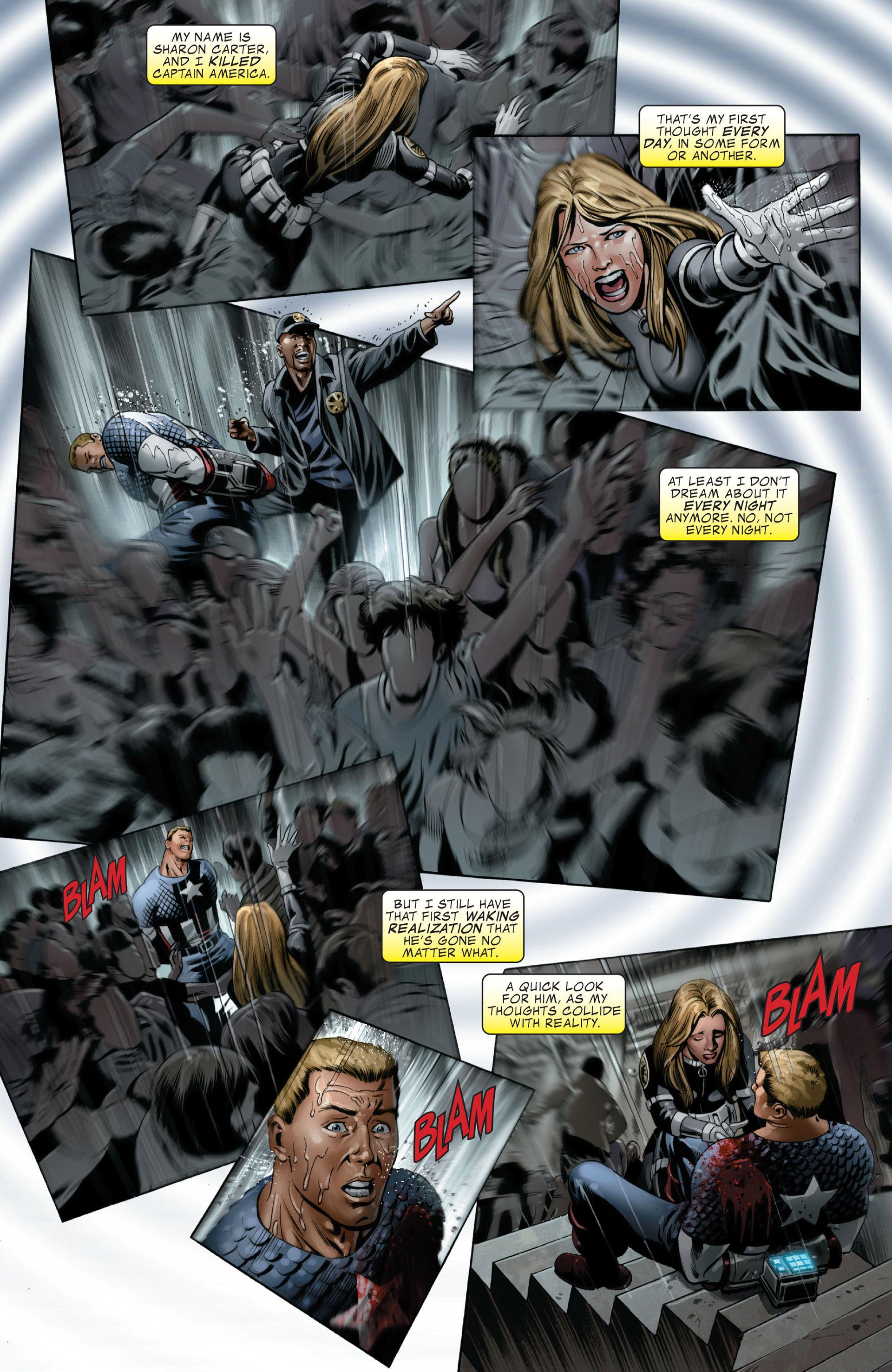 Read online Captain America (2005) comic -  Issue #49 - 3