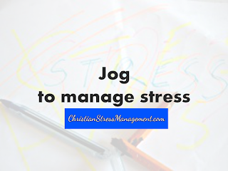 Jog to manage stress