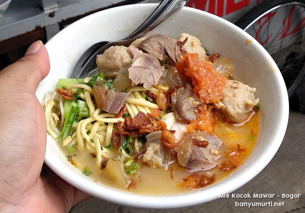 Kuliner Bogor Mie Kocok Mawar Wisata Kuliner Indonesia