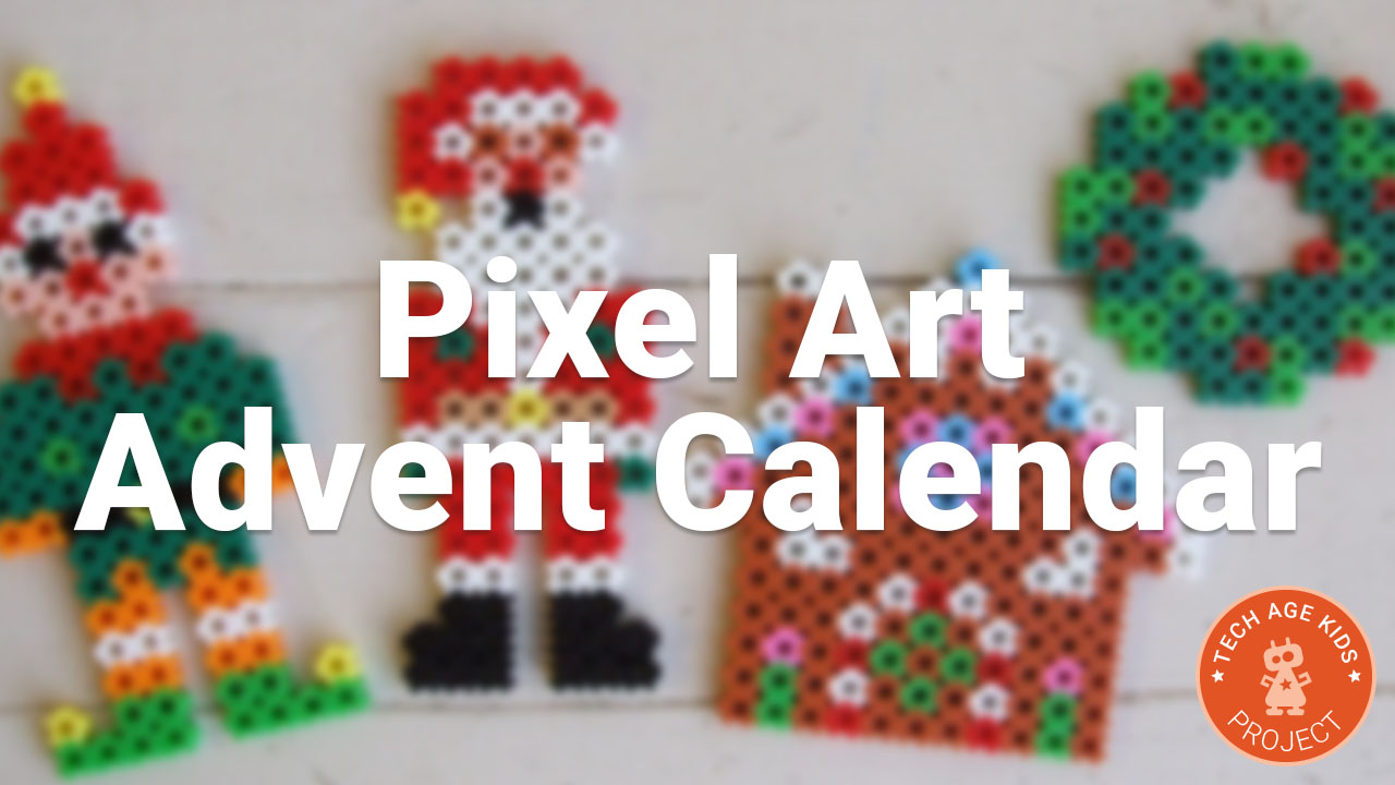 Pixel Art Advent Calendar - A Chocolate Alternative