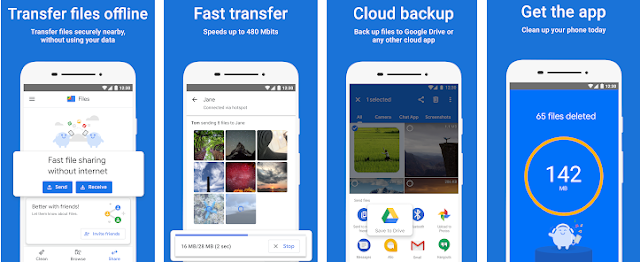 Google Files Go Renamed with 'Files' & Updated with New Material Design