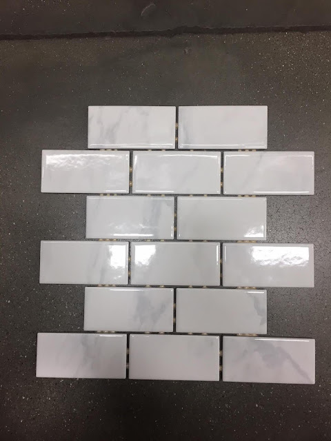 ceramic marble subway tile