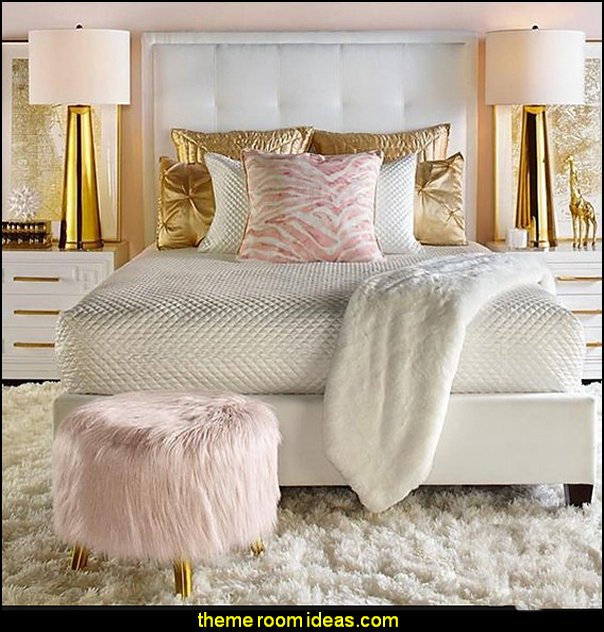 Blush Gold Bedrooms Pink Decorating Decor And