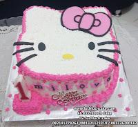 Hello Kitty 3d Cake Buttercream Kepala