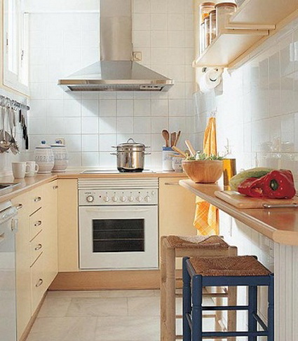 5 simple tips for decorating small kitchens 1