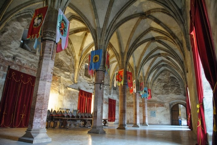Corvin Castle - Grand Palace - Interior