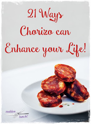 recipes using chorizo
