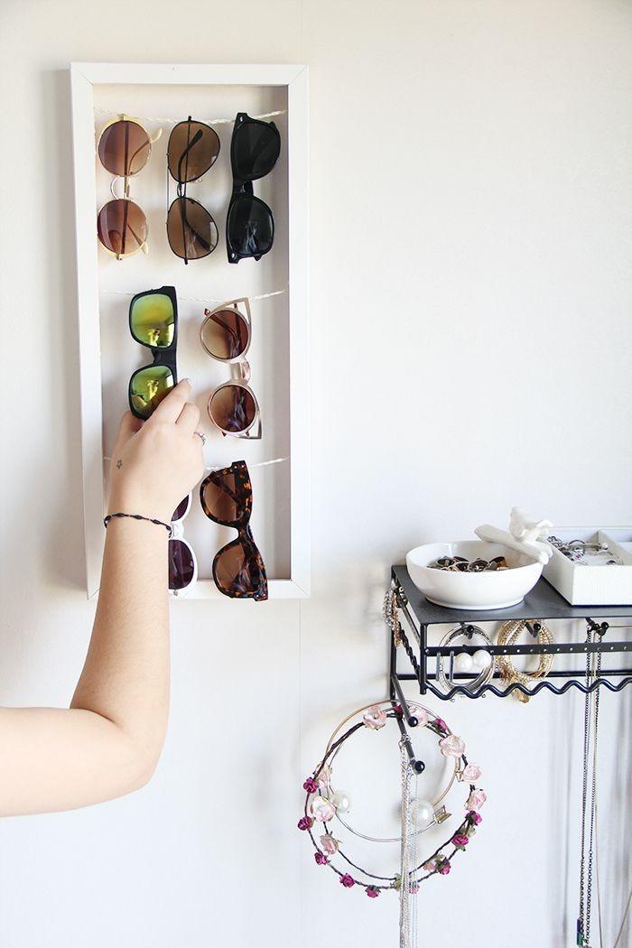 Para mãe que coleciona óculos e gosta de expô-los de forma bonita na decoração