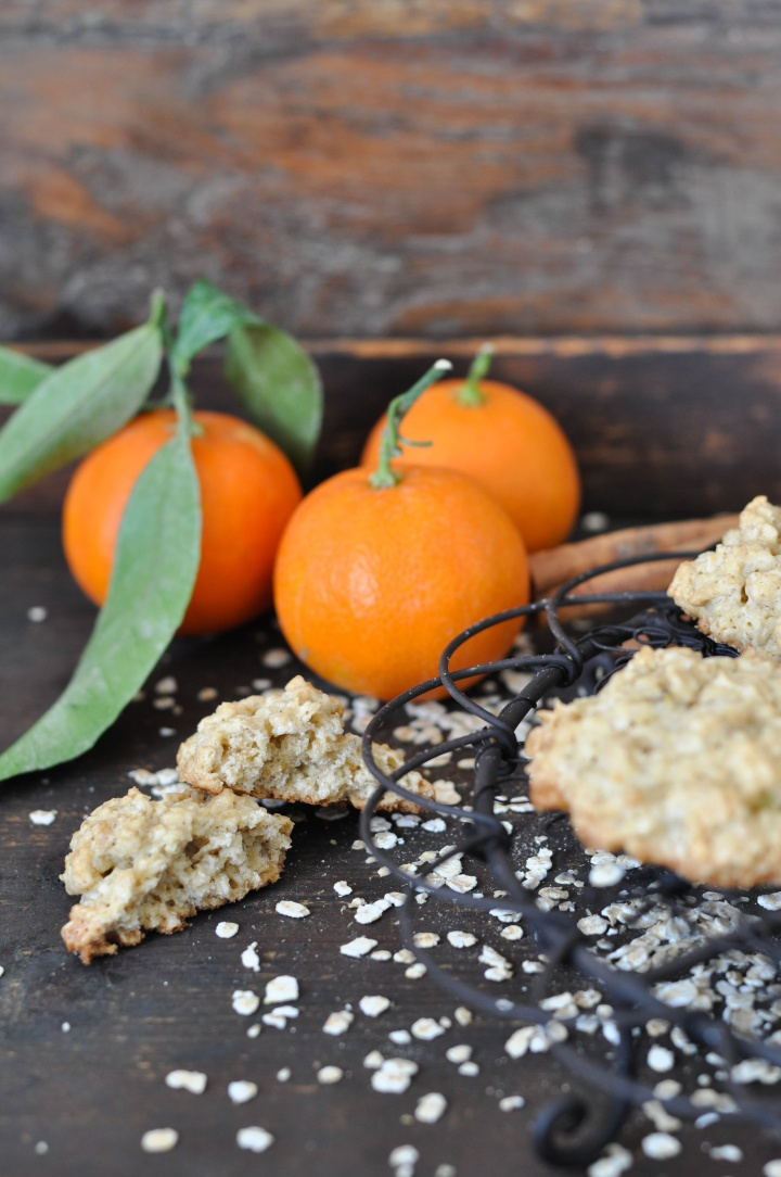 gluten free Clemetine-Oat-Cookies, easy-peasy to make and oh-so good!