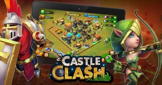 Download Castle Clash Brave Squads Apk Data