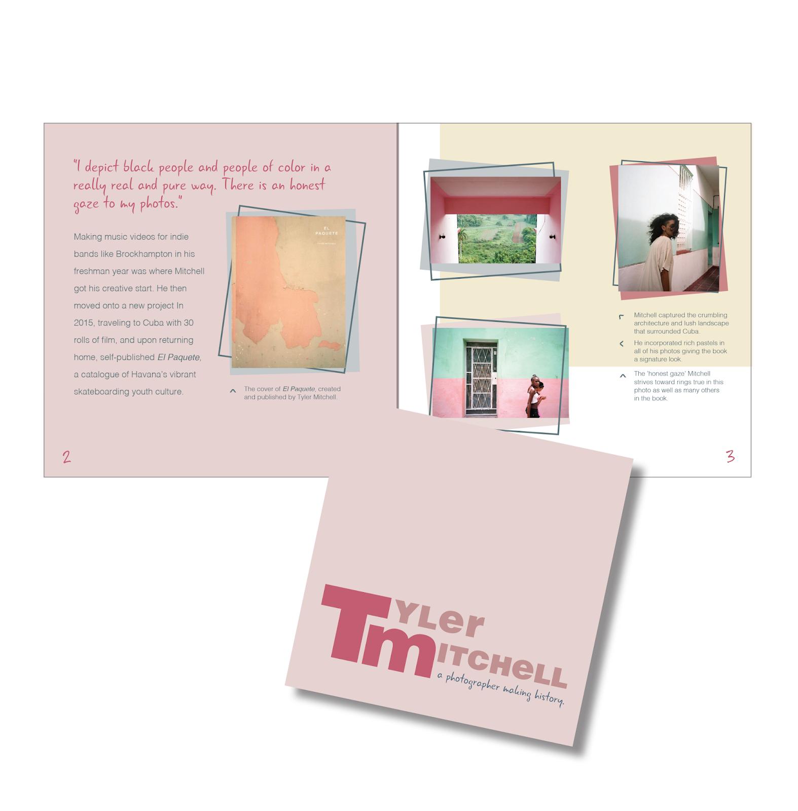 gcvisualart portfolio photographer biography booklet