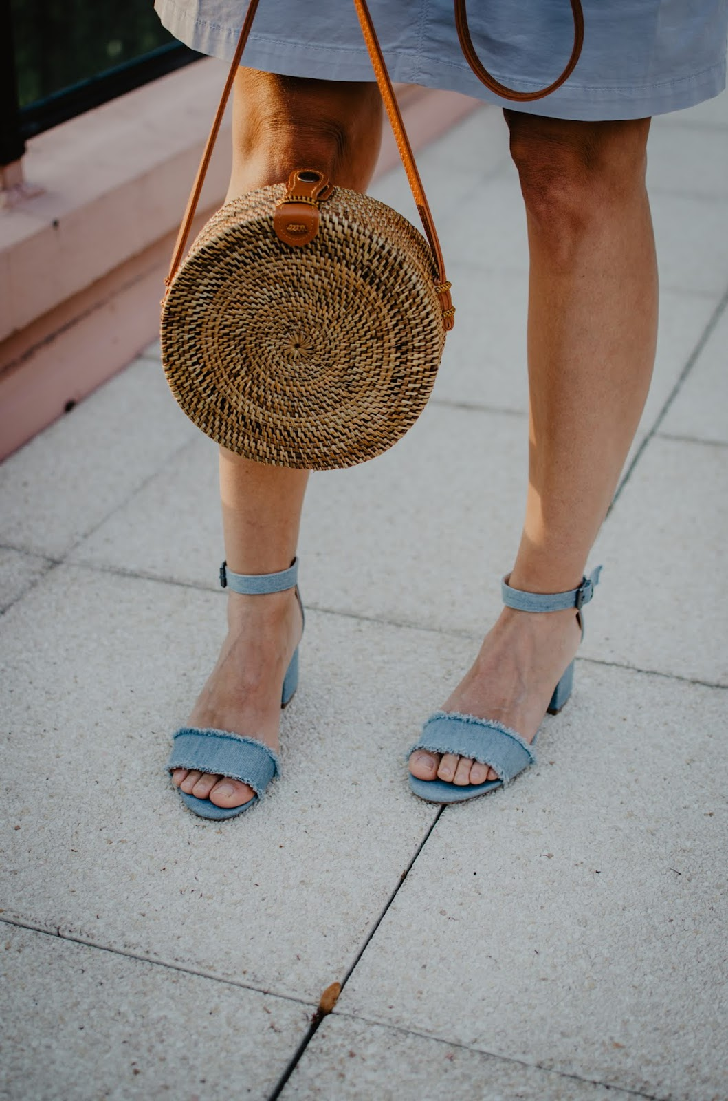 sandales en jean kiabi