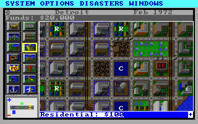 Nerdly Pleasures Simcity For Dos The Swiss Army Knife