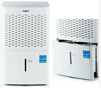 Tosot 30-Pint Dehumidifier with Removable Drain Bucket