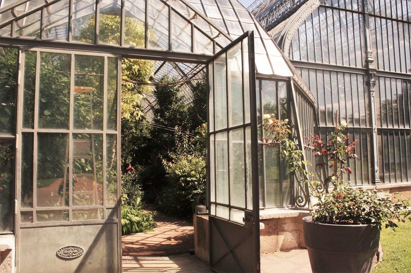 118 serre de jardin fer forge serre en fer forg et orangeries antiquit aubry lyon parc de la. Black Bedroom Furniture Sets. Home Design Ideas