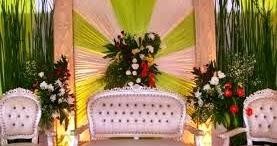 dekorasi kartini: dekorasi pernikahan sederhana di rumah