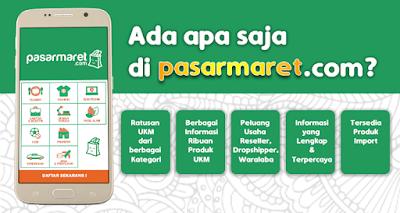 Web E-commerce pasarmaret.com : Terobosan Baru Situs Jual Beli Online di Era Kontemporer