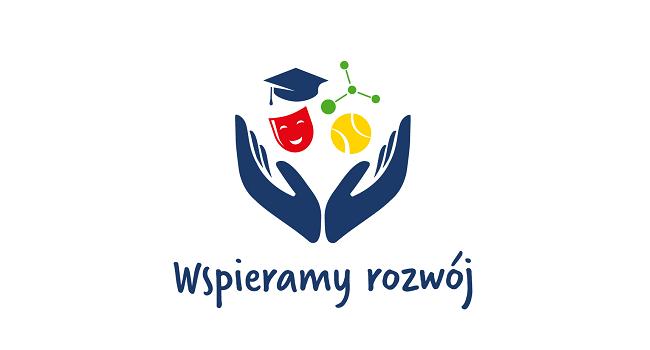 Logo konkursu Wspieramy rozwój