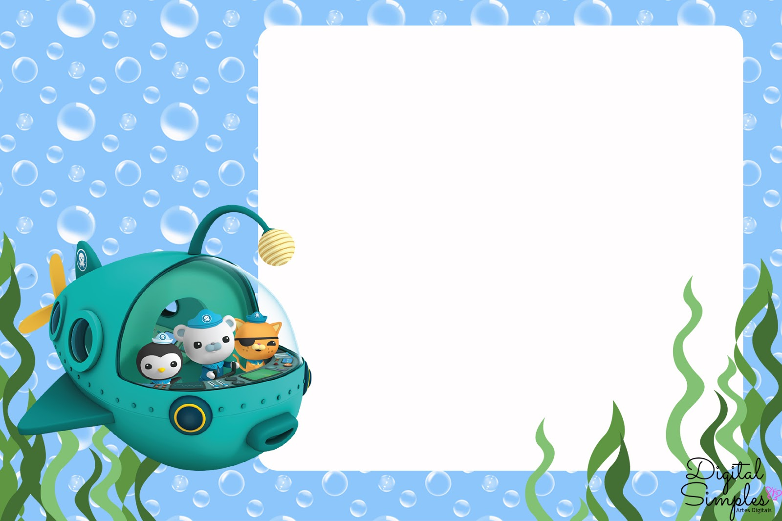 The Octonauts Free Printable Kit.   Is it for PARTIES? Is ...
