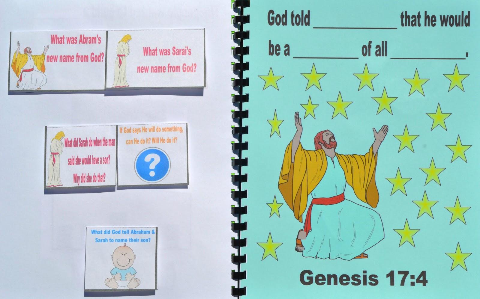 Bible Fun For Kids Genesis Abraham Amp Sarah