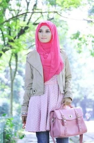 lihat model baju muslim terbaru