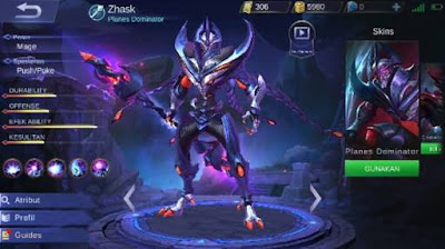Mobile legends | Kelemahan Dari Hero Zhask